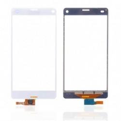 Sony Xperia Z3 Compact dotykové sklo digitizer bílý