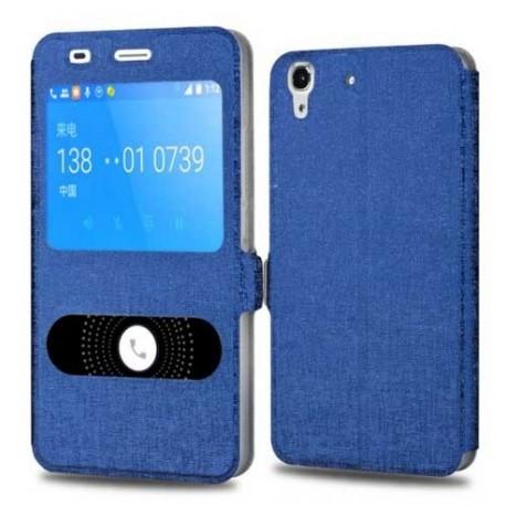 Flipové pouzdro S-view pro Huawei Y6 II modré