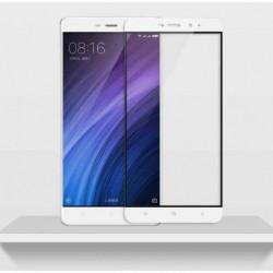 Full cover 3D tvrzené sklo 9H pro Xiaomi Redmi 4 Pro bílé