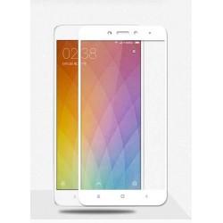 Full cover 3D tvrzené sklo 9H pro Xiaomi Redmi Note 4 bílé