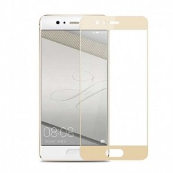 Full cover 3D tvrzené sklo 9H pro Huawei P10 zlaté