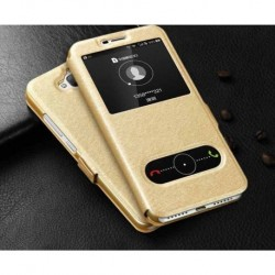 Pouzdro S-view pro Lenovo Moto G5 zlaté