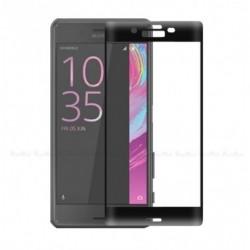 Full cover 3D tvrzené sklo 9H pro Sony Xperia X Compact černé