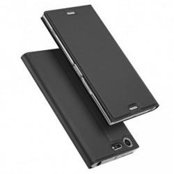 Flipové pouzdro DUX pro Sony Xperia XZ Premium černé