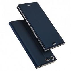 Flipové pouzdro DUX pro Sony Xperia XZ Premium modré