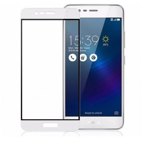 Full cover 3D tvrzené sklo 9H pro Asus Zenfone 3 Max ZC553KL bílé