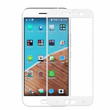 Full cover 3D tvrzené sklo 9H pro HTC 10 bílé