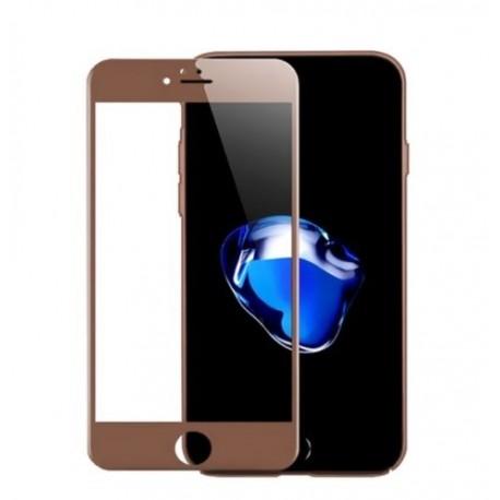 Full cover 3D tvrzené sklo 9H pro Apple iPhone 6 růžové