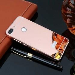 Hliníkový rámeček + back case pro Honor 9 Lite růžový
