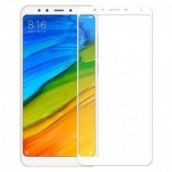 Full cover 3D tvrzené sklo 9H pro Xiaomi Redmi 5 Plus bílé