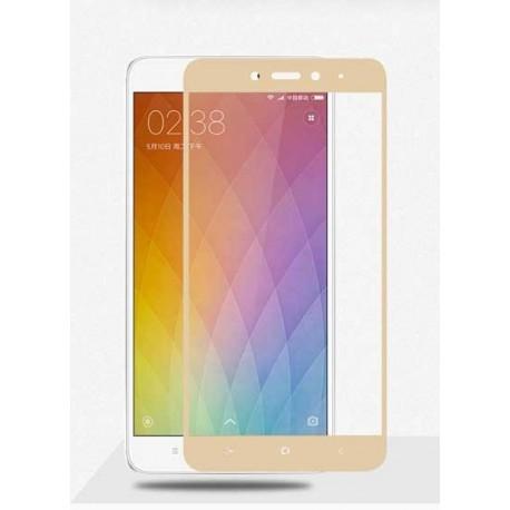 Full cover 3D tvrzené sklo 9H pro Xiaomi Redmi Note 4 Global zlaté
