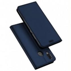Flipové pouzdro DUX Premium pro Huawei P20 Lite modré