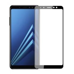 Full cover 3D tvrzené sklo 9H pro Samsung Galaxy A8 2018 černé