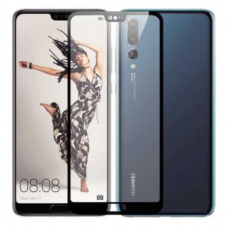Full cover 3D tvrzené sklo 9H pro Huawei P20 Pro černé