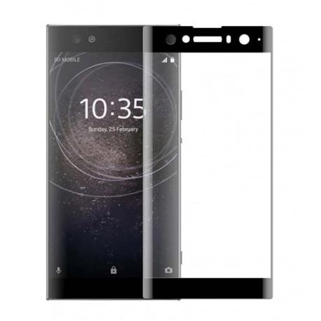 Full cover 3D tvrzené sklo 9H pro Sony Xperia XA2 černé