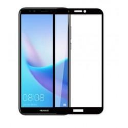 Full cover 3D tvrzené sklo 9H pro Huawei Y7 Prime 2018 černé