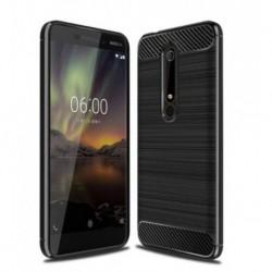 Silikonové pouzdro CARBON pro Nokia 3.1 černé