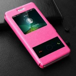 Pouzdro S-view pro Xiaomi Mi A2 Lite růžové