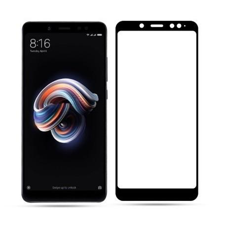 Full cover 3D tvrzené sklo 9H pro Xiaomi Redmi Note 5 Global černé
