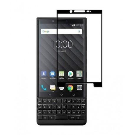 Full cover 3D tvrzené sklo 9H pro BlackBerry Key2 černé
