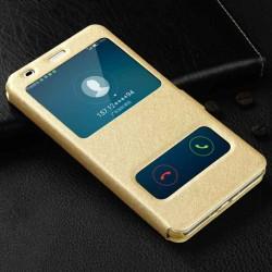 Pouzdro S-view pro Samsung Galaxy J6 J600F zlaté