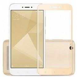 Full cover 3D tvrzené sklo 9H pro Xiaomi Redmi Note 5 Global zlaté