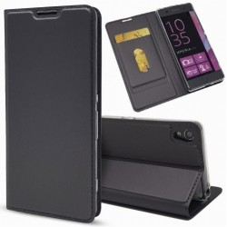 Flipové pouzdro DUX Premium pro Sony Xperia X Compact černé
