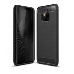 Silikonové pouzdro CARBON pro Huawei Mate 20 Pro černé