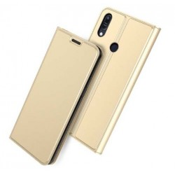 Flipové pouzdro DUX pro Asus Zenfone Max Pro M2 ZB631KL zlaté