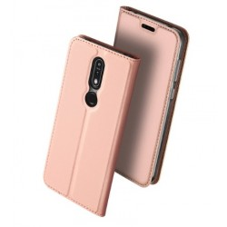 Flipové pouzdro DUX Premium pro Nokia 5.1 Plus růžové