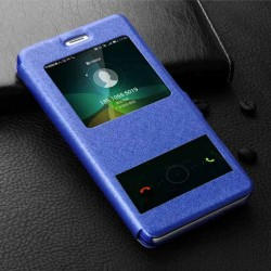 Pouzdro S-view pro Samsung Galaxy J4+ J415F modré