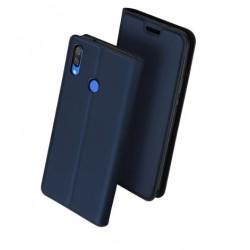 Flipové pouzdro DUX Premium pro Xiaomi Redmi Note 7 modré