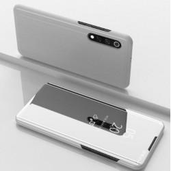 Smart pouzdro Mirror pro Xiaomi Mi 9 stříbrné