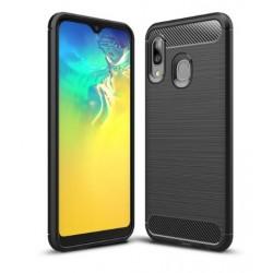Silikonové pouzdro CARBON pro Samsung Galaxy A20e A202F černé