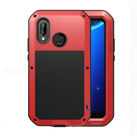 Love Mei Case outdoor pouzdro pro Huawei P20 Lite červené