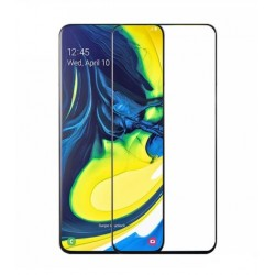 Full cover 3D tvrzené sklo 9H pro Samsung Galaxy A80 A805F černé