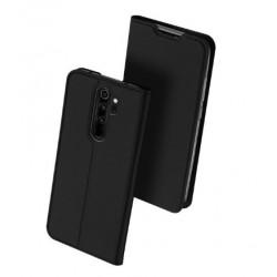 Flipové pouzdro DUX Premium pro Xiaomi Redmi Note 8 Pro černé