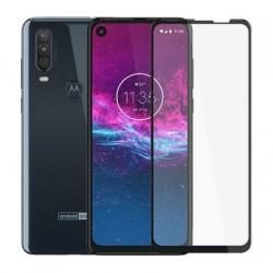 Full cover 3D tvrzené sklo 9H pro Motorola One Action černé