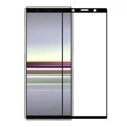 Full cover 3D tvrzené sklo 9H pro Sony Xperia 5 černé