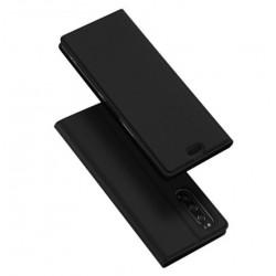Flipové pouzdro DUX pro Sony Xperia 5 černé