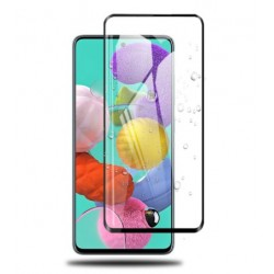 Full cover 3D tvrzené sklo 9H pro Samsung Galaxy A71 A715F černé