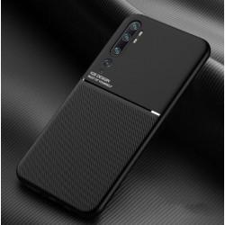 Silikonové pouzdro CARBON pro Xiaomi Mi Note 10 černé