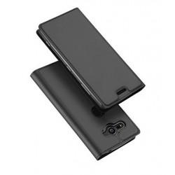 Flipové pouzdro DUX Premium pro Sony Xperia XZ1 Compact černé
