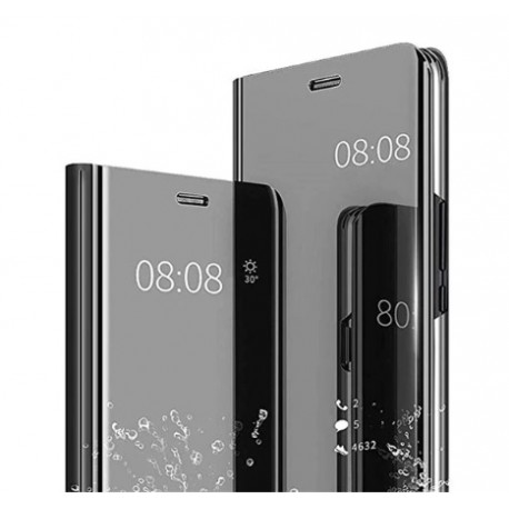 Smart pouzdro Mirror pro Xiaomi Redmi Note 9 Pro černé