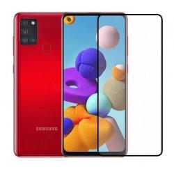 Full cover 3D tvrzené sklo 9H pro Samsung Galaxy A21s SM-217F černé