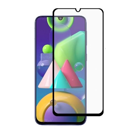 Full cover 3D tvrzené sklo 9H pro Samsung Galaxy M21 M215F černé