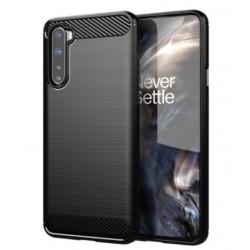 Silikonové pouzdro CARBON pro OnePlus Nord černé
