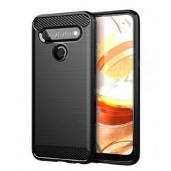 Silikonové pouzdro CARBON pro LG K61 černé