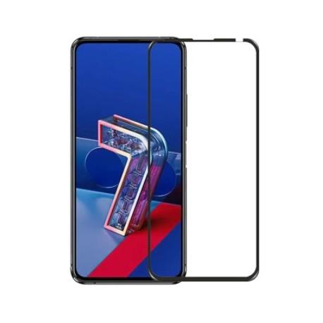 Full cover 3D tvrzené sklo 9H pro Asus Zenfone 7 Pro ZS671KS černé