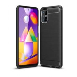 Silikonové pouzdro CARBON pro Samsung Galaxy M51 M515F černé